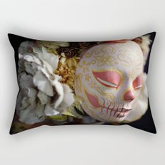 Morning Harvest Muertita Detail Rectangular Pillow