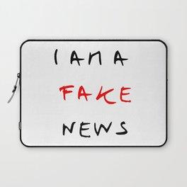 I am fake news Laptop Sleeve
