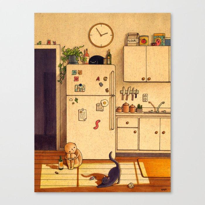 Kitchen Floor Leinwanddruck