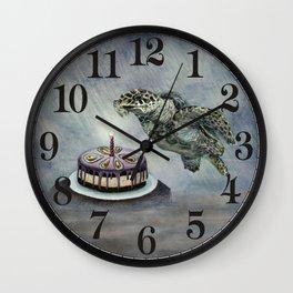 Turtle Birthday Wall Clock