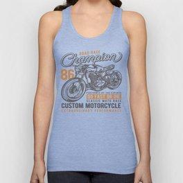 Motorcycle Champion Unisex Tank Top