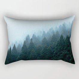 Japanese Forest Rectangular Pillow