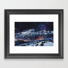 Magical Mountain Framed Art Print