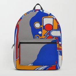 Orange Rider Backpack