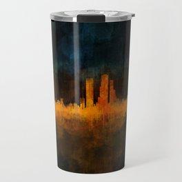 Bogota City Skyline Hq V4 Travel Mug