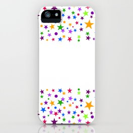 COLORFUL STARS iPhone Case