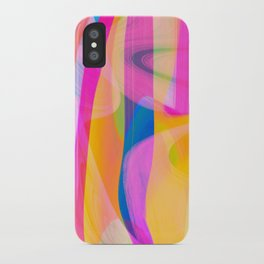 Digital Abstract #4 iPhone Case