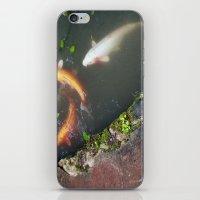 koi fish iPhone & iPod Skins featuring Koi Fish by Elizabeth Boyajian