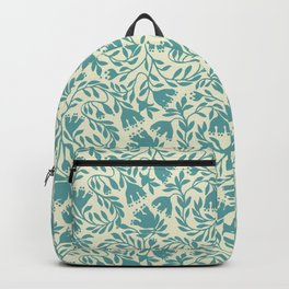 impression indienne blue turquoise. Backpack
