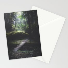 The road back is always the hardest Stationery Cards