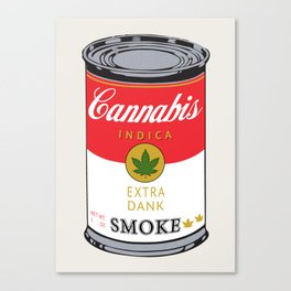 Campbell's Soup (Cannabis Indica) Canvas Print