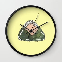 Sake Onigiri Japan Wall Clock