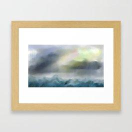El poder de Dios Framed Art Print