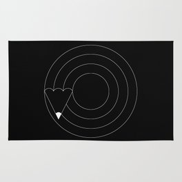Drawing circles Rug