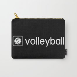 Volleyball (Grey) Carry-All Pouch