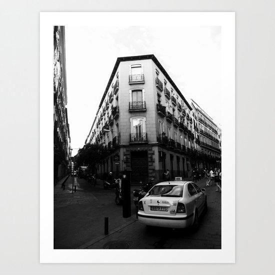 Taxi Art Print