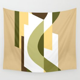 SUISSE - Art Deco Modern: LATE AUTUMN Wall Tapestry