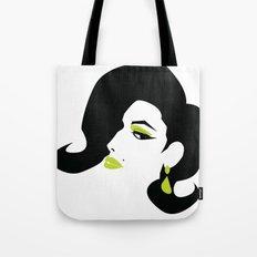profile - green Tote Bag