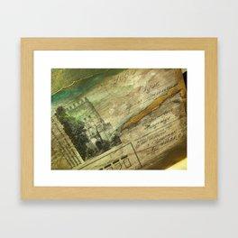 Was it That Long Ago? Framed Art Print