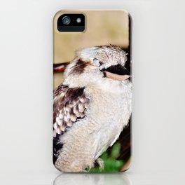 Sleeping Kookaburra iPhone Case