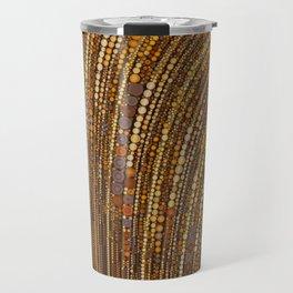 zara - art deco arc arch design in bronze copper gold Travel Mug