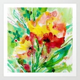 Blooming Joy No.1 by Kathy Morton Stanion Art Print