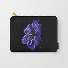A luminescent flower Carry-All Pouch