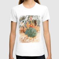 aloha T-shirts featuring ALOHA by TOO MANY GRAPHIX