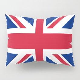 red white and blue trendy london fashion UK flag union jack Pillow Sham