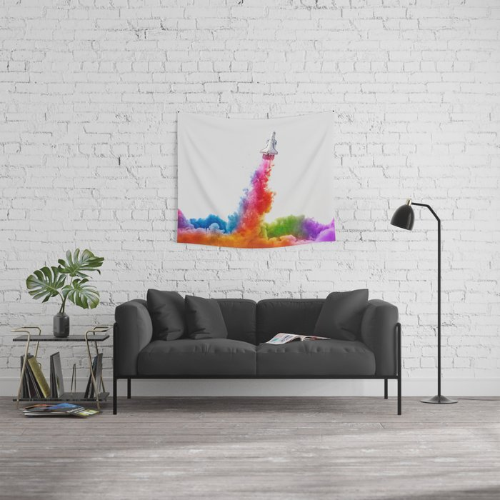 To Infinity Wall Tapestry