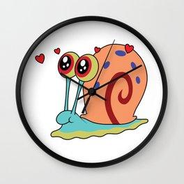Sponge Bob (Gary The Snail) Wall Clock