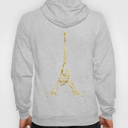 Digital-Art Eiffel Tower | golden Hoody
