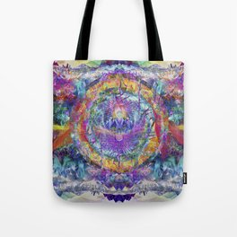 Crystal Mountains Two Tote Bag