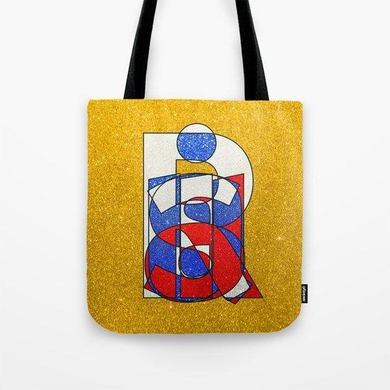 RUSSIA - Gold - Glitter Tote Bag