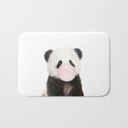 Bubble Gum Panda Bear Bath Mat