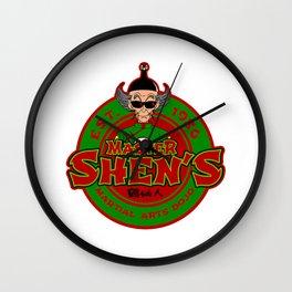 Shen Dojo Wall Clock