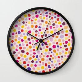 Dots 2 Painting Wall Clock