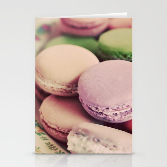 Sweet Macarons Stationery Cards