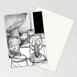 A little obstacle course Stationery Cards