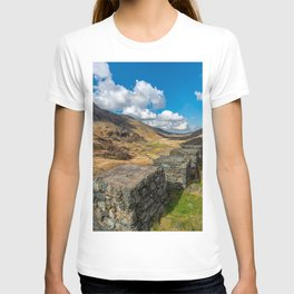 Nant Ffrancon Pass Snowdonia T-shirt