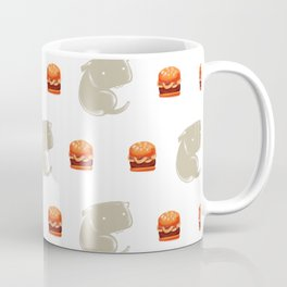 Sharkbark's Burgers - Pattern Coffee Mug