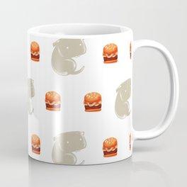 Sharkbark's Burgers - Pattern Coffee Mug