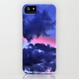 Clouds - Twilight Summer #1 #sunset #decor #art #society6 iPhone Case