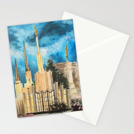 Zion's LDS Temples Painting Stationery Cards