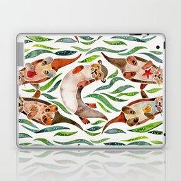 Five Otters – Green Seaweed Laptop & iPad Skin
