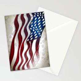 Old Glory...long may she wave Stationery Cards