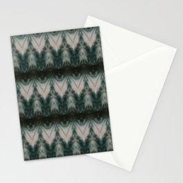 Shades of Green Shibori Stationery Cards
