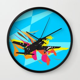COMBAT PLANE Wall Clock