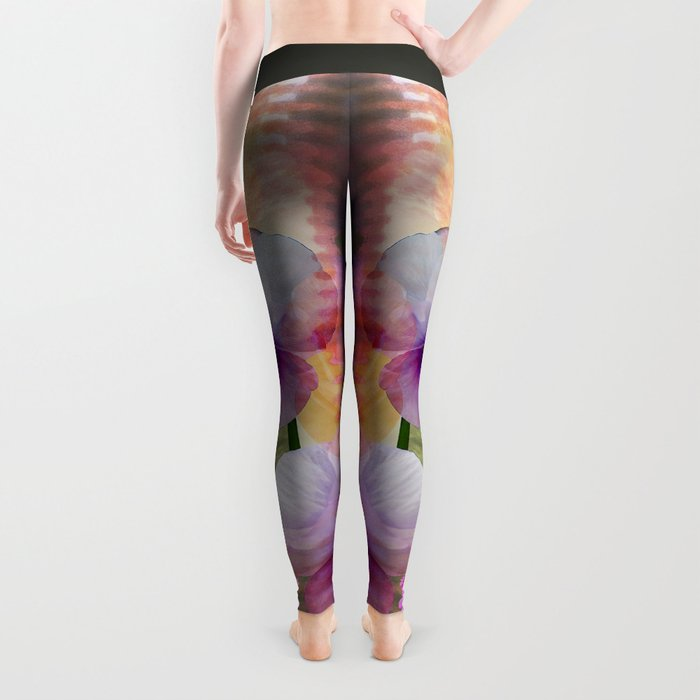 Paint me a garden Leggings