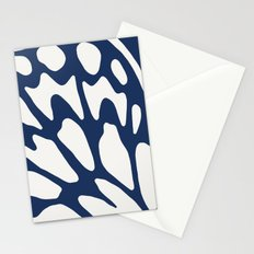 Butterfly Wings: Dusty Blue Stationery Cards